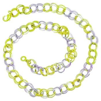 Saizen Dazzling  Gold & silver Chain For men/boys/boyfriend/husband & unisex