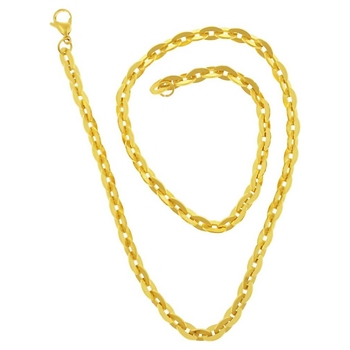 Saizen CH179 Daily Wear Gold-plated Plated Stainless Steel Chain