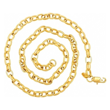 Saizen Ch216 Linking Yellow Gold Chain For Men, Boyfriend & Husband Gold-Plated Plated Stainless Steel Chain