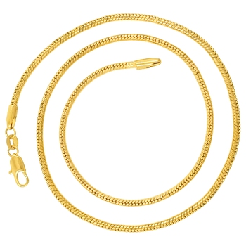 Saizen CH257 Linking Yellow Gold Chain For Men, Boyfriend & Husband Gold-plated Plated Stainless Steel Chain
