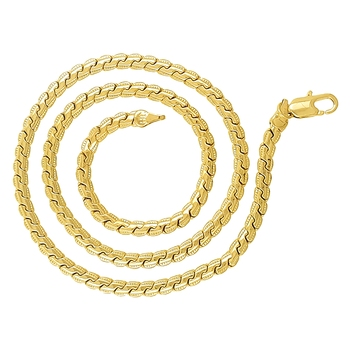 Gold plated men chain