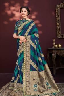fa87f6ea1892ac Banarasi Silk Sarees - Buy Pure Designer Banarasi Silk Saree Online