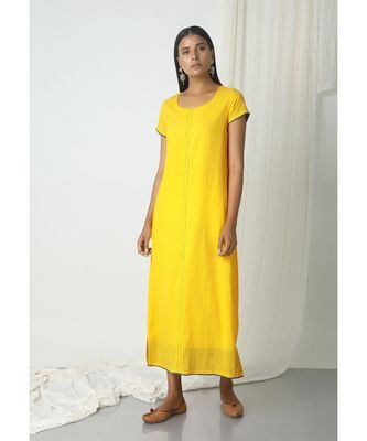 ab4c4c7534 Yellow Box Kurta Dress - trueBrowns - 2912266