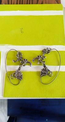 German Silver Earcuffs