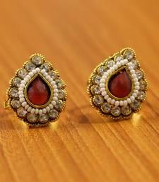 Red Ruby       Toe-Rings