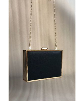 Black Casual  Clutch