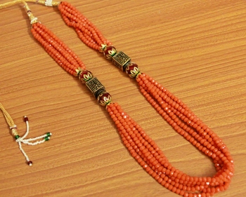 Orange Swarovski Crystal Necklaces