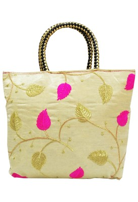 Shree Shyam Products Embroidered Ladies Pink Bags