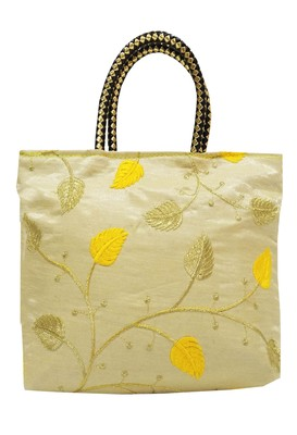 Shree Shyam Products Embroidered Ladies Yellow Bags