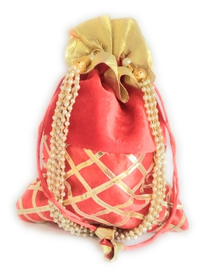 Handmade Ethnic traditional Potli bag for ladies and girls