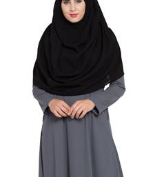 Black Nida Khimar Ready To Wear Instant Hijab