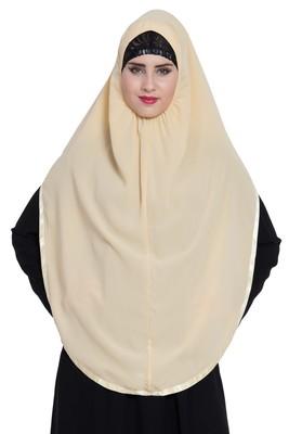 Fawn  Nida Khimar Ready To Wear Instant Hijab
