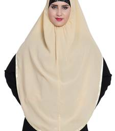 Fawn  nida khimar ready to wear instant hijab