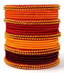 """Elegant And Stylish Multi Colour Silk Thread Bangle Set For Girls And Women """"Pack  Of 26Pcs"""""""