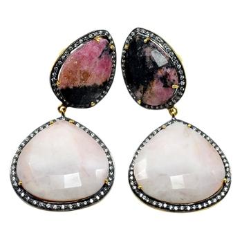 Multicolor Opal Earrings