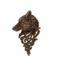 Ferosh Wolf Brooch