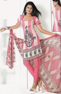 Crepe Dress Material Elegant Designer Unstitched Salwar Suit D.No 7285