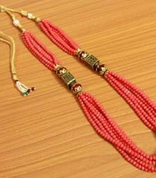 Peach Antique Look Necklace