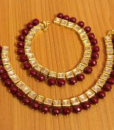 Red Ruby       Anklets