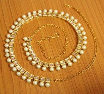 White Pearl Waist-Belt