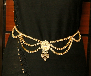 White Zircon       Waist-Belt