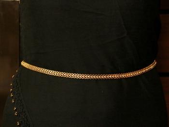 White waist-belt