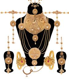 Gold bridal set
