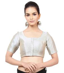 Grey Mulberry Readymade Blouse for Women