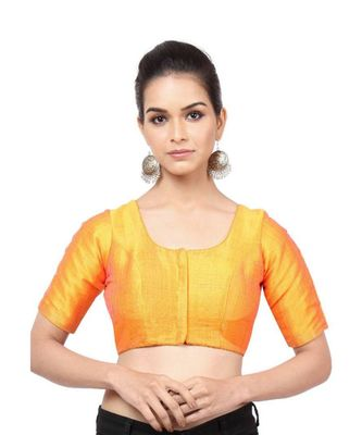 Mustard Mulberry Readymade Blouse For Women