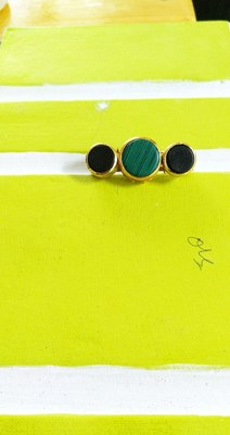 Green And Black Brooch