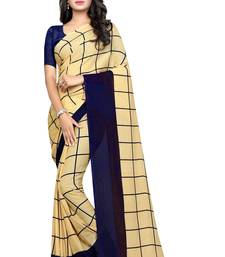VSAREE NEW EXCLUSIVE GEORGETTE PRINT SAREE WITH BLOUSE