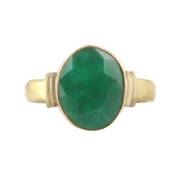 Green emerald rings
