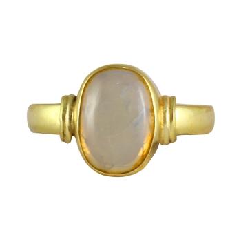 White opal rings