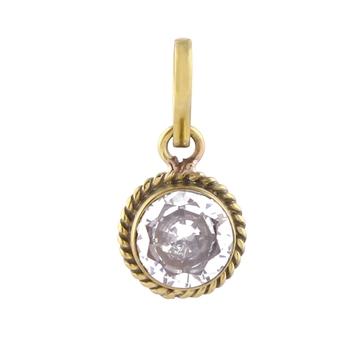 Multicolor zircon pendants
