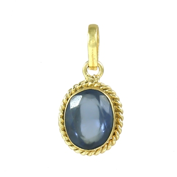 Blue sapphire pendants