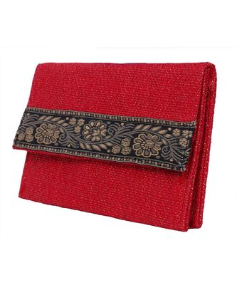 Red Jute clutches