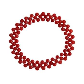 Orange jade bracelets