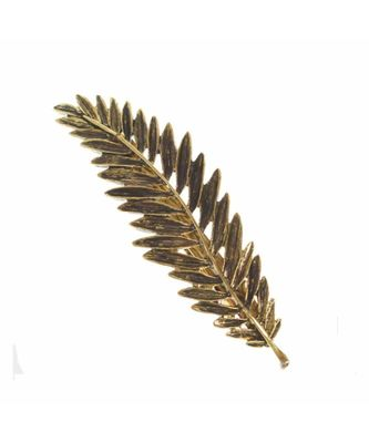 Gold Akane Leaf Hair Pin