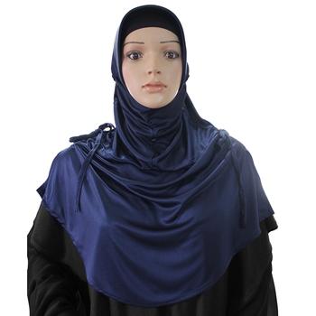 Rania Hijab Navy Blue -Xl