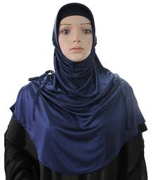 Rania Hijab Navy Blue -xl