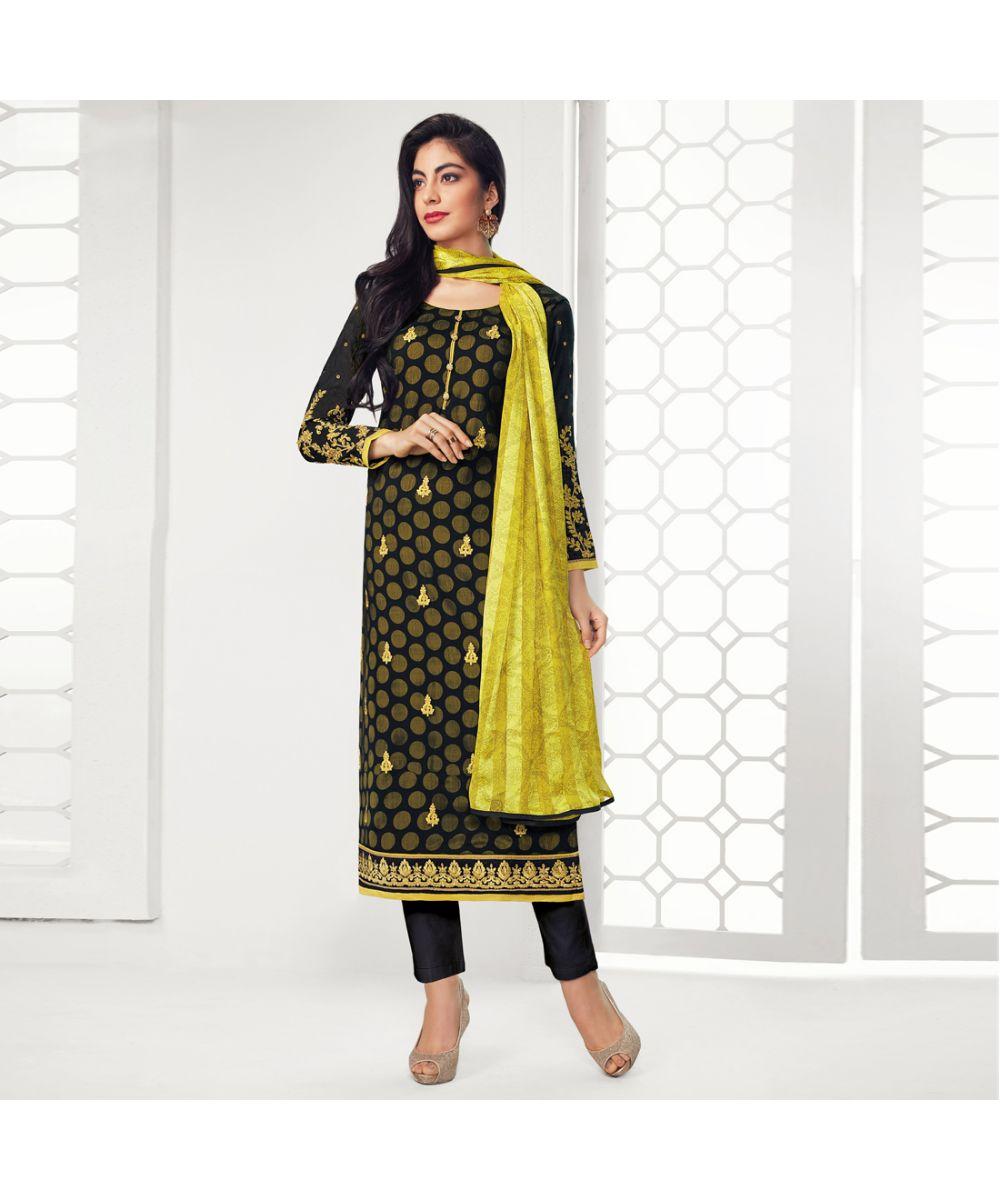 40308618e3 Black Salwar Suit – Buy Latest Black Color Salwar Kameez Online