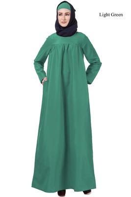 MyBatua Green Kashibo Latifa Maternity Abaya