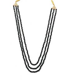 Three Layer Crystal Mala Necklace For Women