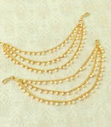 Gold ear-cuffs