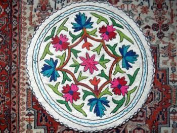 namdha rug round 2 feet