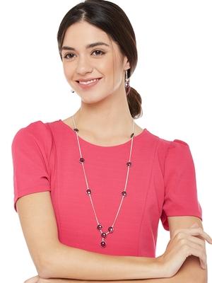 Silver Plain Party Necklace Sets