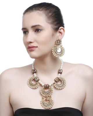 Gold Plain Bridal Necklace Sets