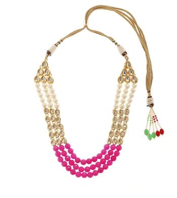 Pink Bridal Plain Necklace Sets