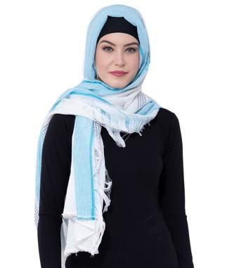 Ruqsar Tassels of life Head Scarf hijab