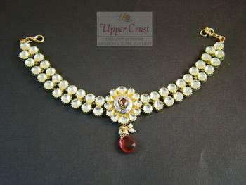 CZ Kundan Bridal Baju Bandh Armlet